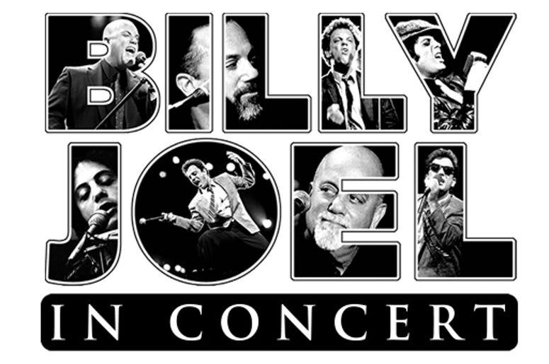 Billy Joel Concert Flyer