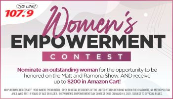 Nominate A Woman To Receive A $200 Amazon Cart For Women's Empowerment Day!